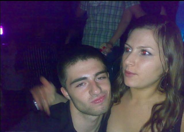 Cem Garipoğlu ve sevgilisi