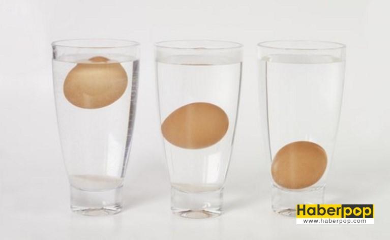 Yumurtanın taze olduğu nasıl anlaşılır