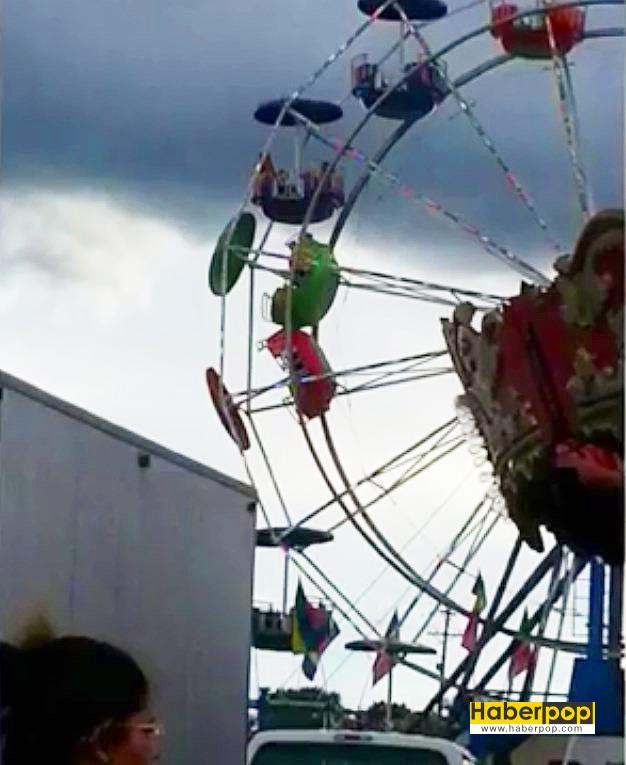 Dönme-dolap-dehşeti-3-çocuk-kabinden-yere-düştü-video