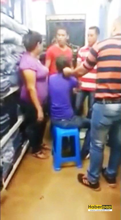 Hırsızlık-yapan-iki-kızın-saçları-mağaza-sahibi-tarafından-kesildi