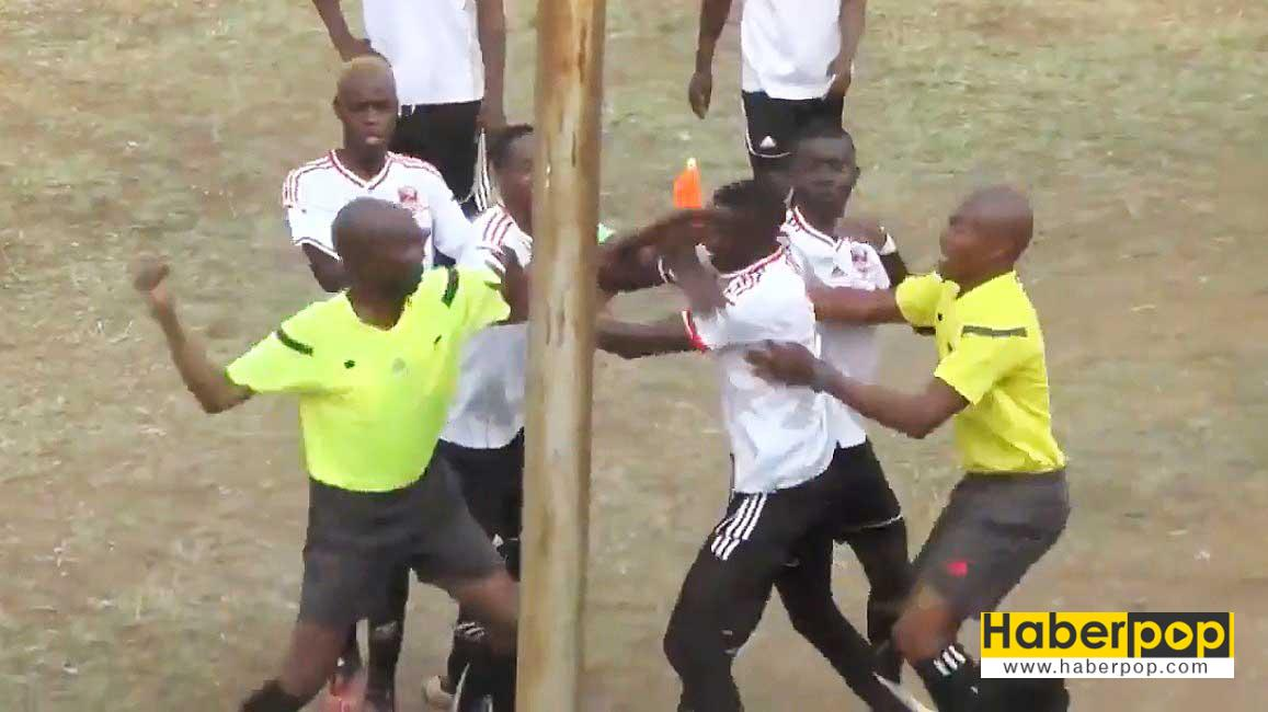 kirmizi-kart-goren-futbolcu-hakemi-tekme-tokat-dovdu-videosu-izle