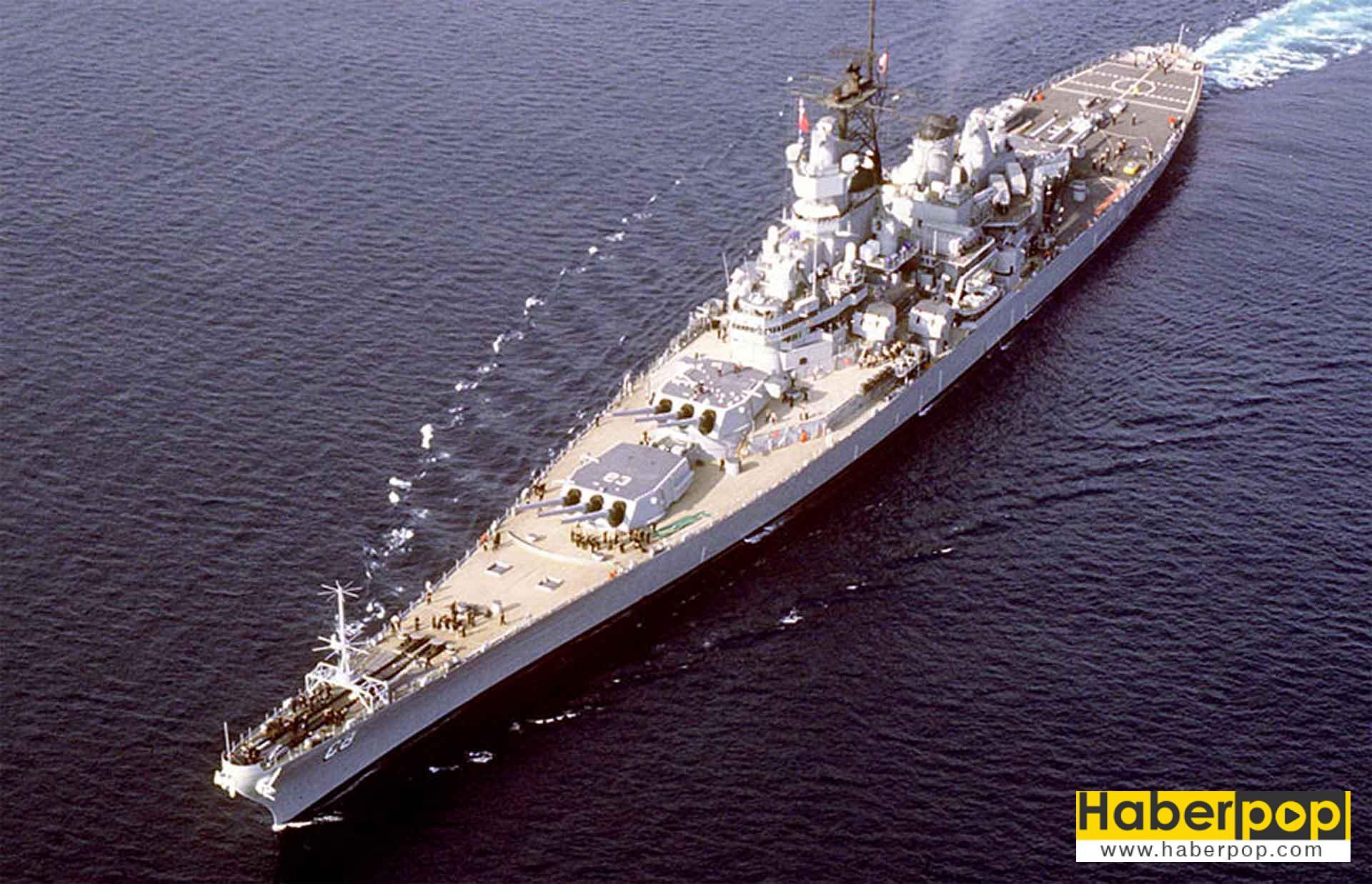 Dünyanın en büyük ve en iyi savaş gemileri: Missouri