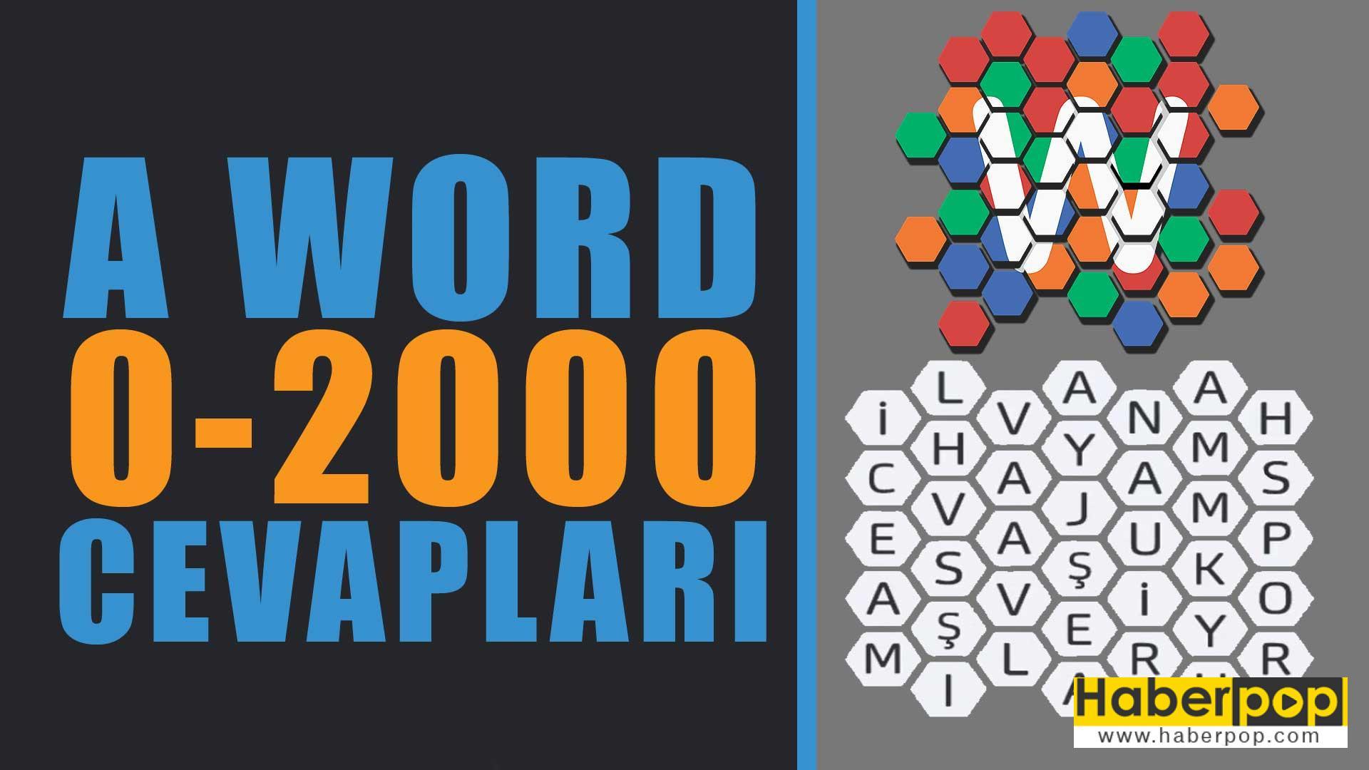 a word oyunu cevaplari-a word bulmaca tum cevaplari-a word kelime oyunu cevaplari www.haberpop.com