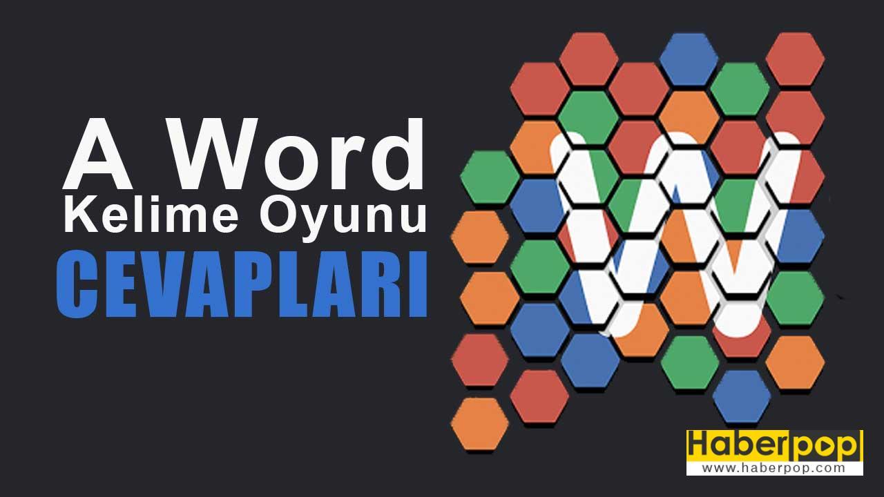 A Word Kelime Oyunu Wordman Bulmaca 15011600 Cevapları