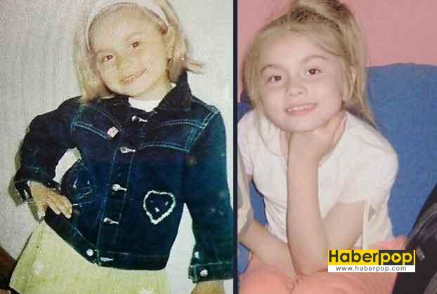 Aleyna Tilki'nin çocukluk yıllarına ait fotoğrafları 3 yaşında