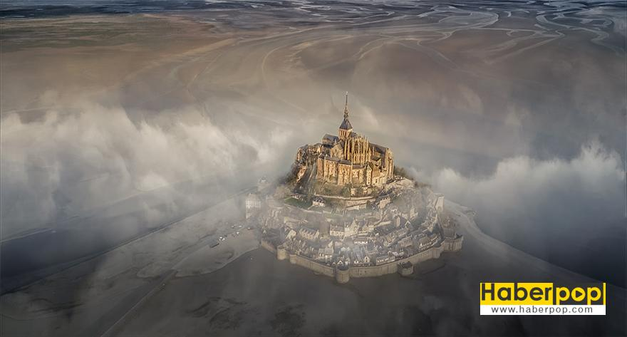 "Büyük Ödülü Kazanan Fotoğraf, ""Mont Saint Michel"" skypixel 1"