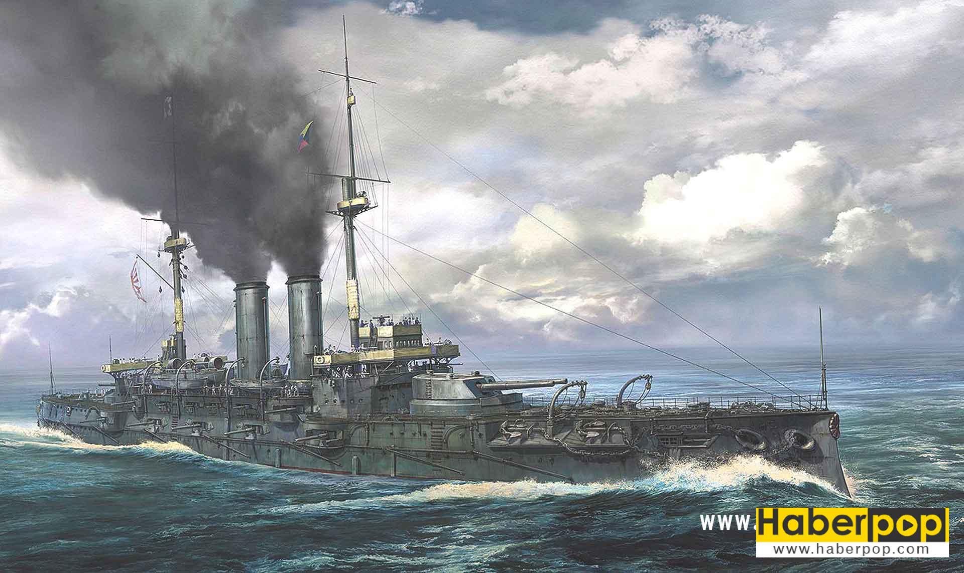 Dünyanın en büyük ve en iyi savaş gemileri: Mikasa